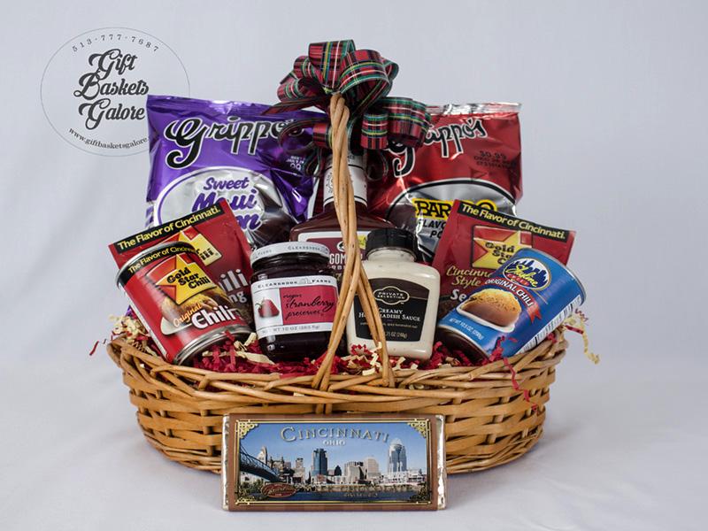 Celebrate Cincinnati Gift Basket