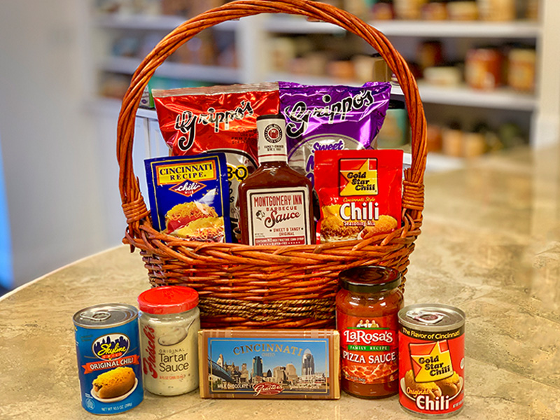Celebrate Cincinnati Gift Basket