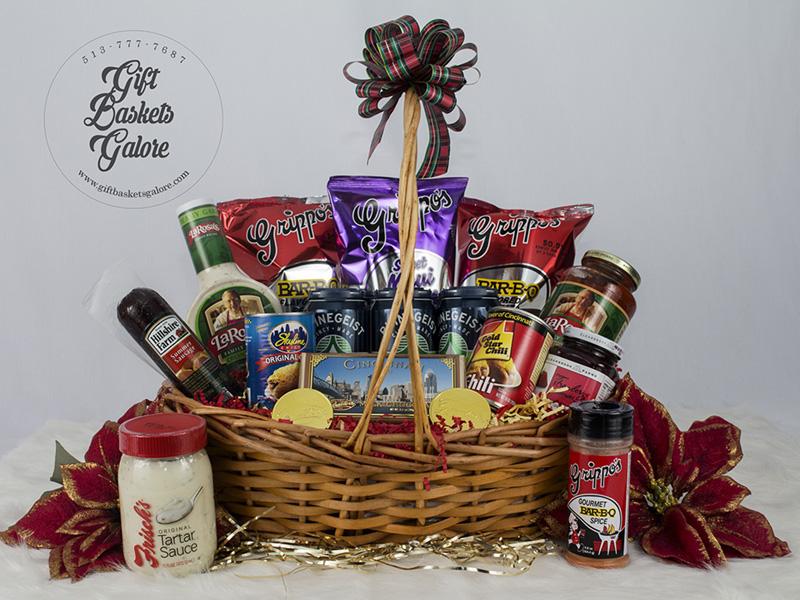 Celebrate Cincinnati Diamond Gift Basket