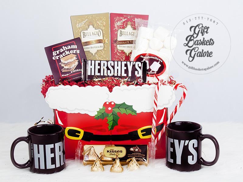 Holiday Hershey Delight Gift Basket
