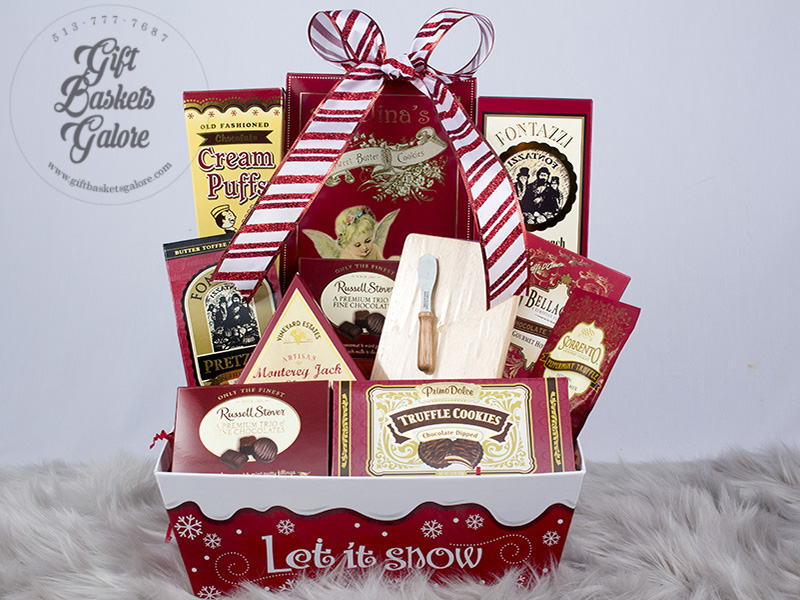 Let It Snow Holiday Tote