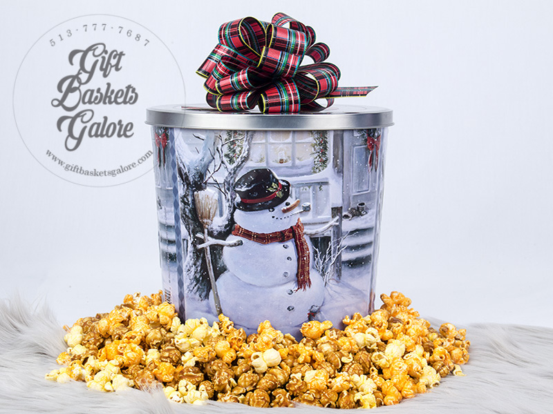 Popcorn Night Gift Basket