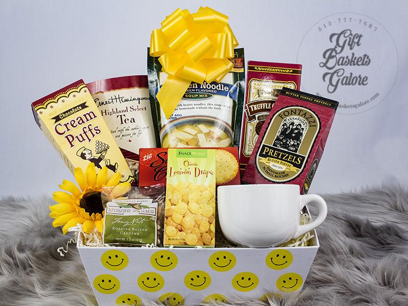 Sunny Smiles Gift Basket
