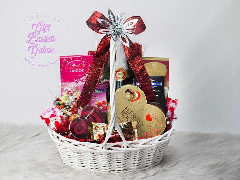 Be My Valentine Basket