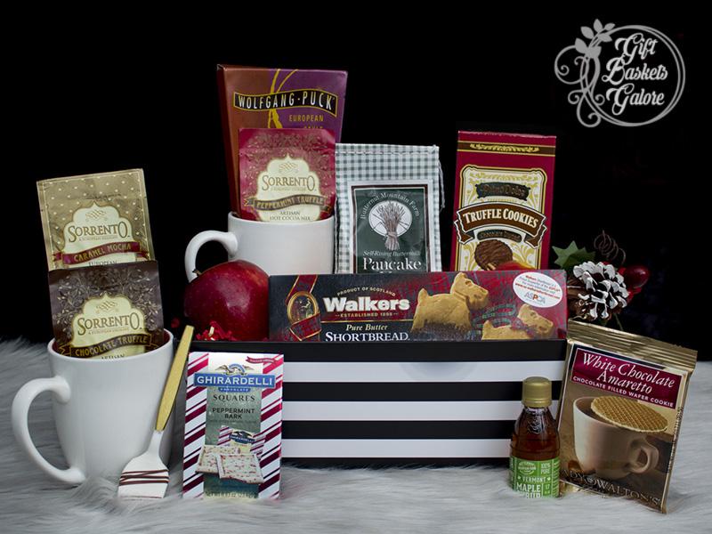 Coffee Christmas Morning.Christmas Morning Gift Tote Gift Baskets Galore
