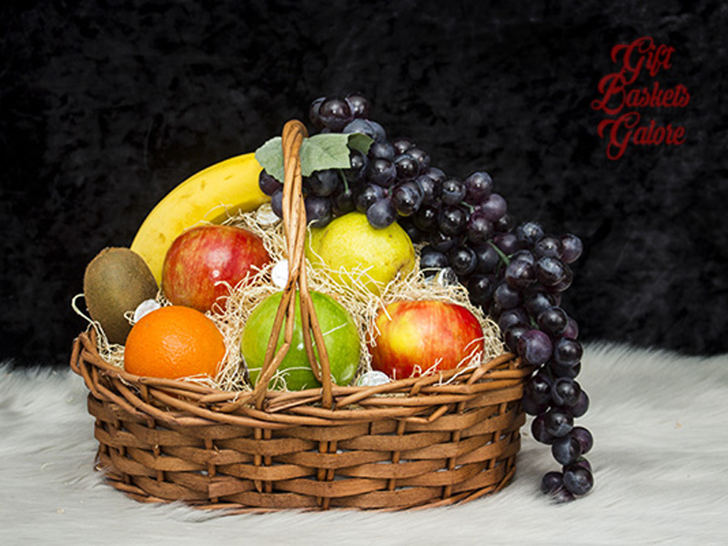 Sweet Celebrations Fruit Basket
