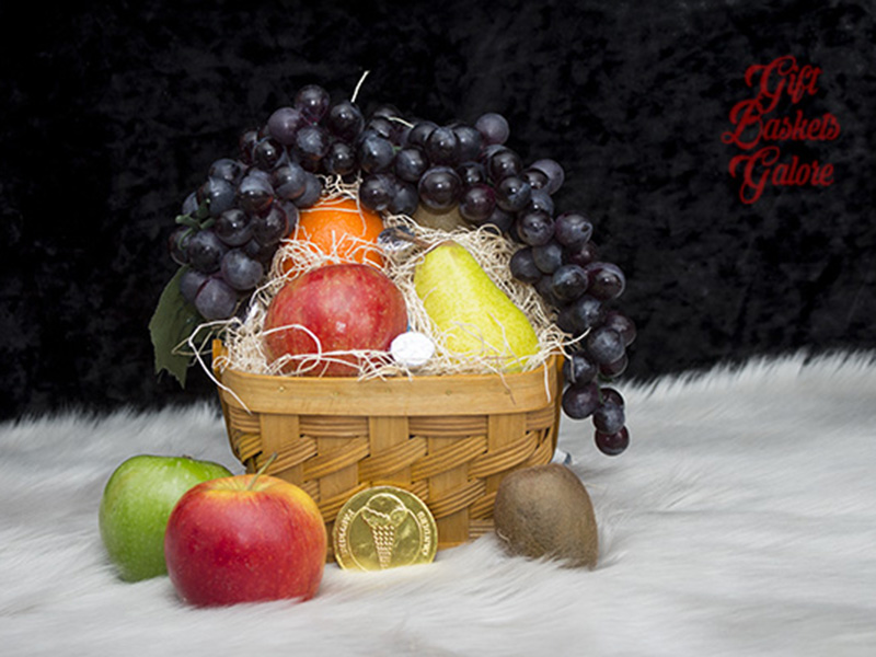 Orchard Delight Fruit Basket