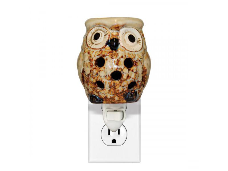 Hoot- Owl Ceramic Warmer