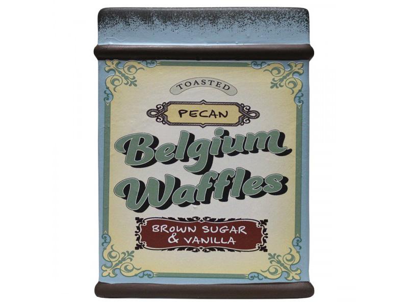 Farm Fresh Baked Goods Jar Pecan Belgium Waffles